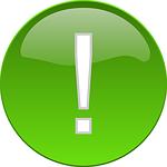 Zusätzliche Features mit grünen Ausrufezeichen